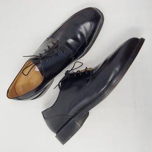 Rockport Black Leather Oxfords 13 Wide Dress Shoes